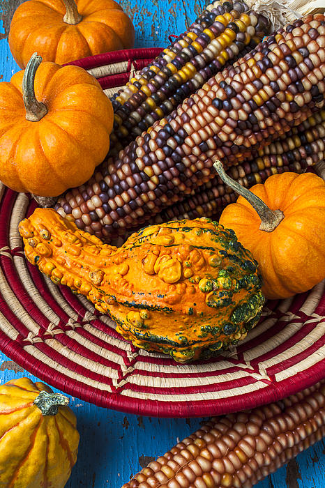 Autumn Basket  Print by Garry Gay