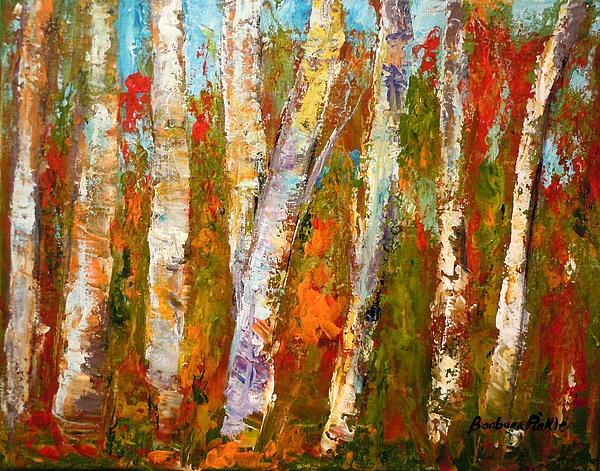 Barbara Pirkle - Autumn Birch