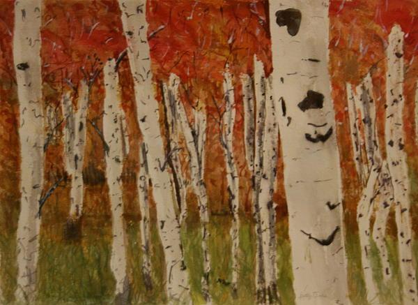 Betty-Anne McDonald - Autumn Birch Forest
