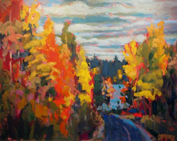 Autumn Print by Brian Simons