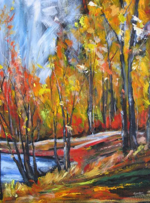 Autumn Print by Debora Cardaci