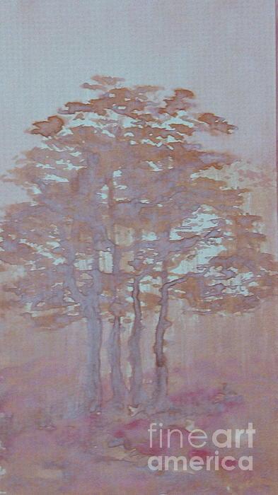 Autumn Fog Print by Anna Folkartanna Maciejewska-Dyba