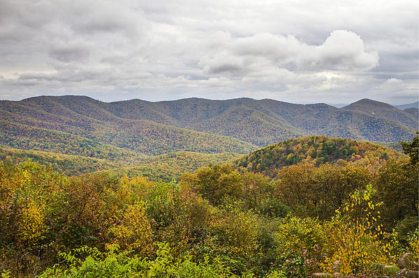 Autumn In Shenandoah National Park Print by Pierre Leclerc Photography