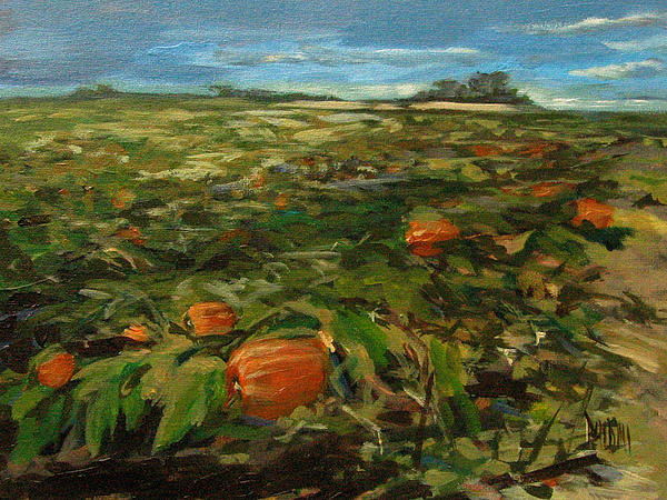Autumn Print by J R Baldini