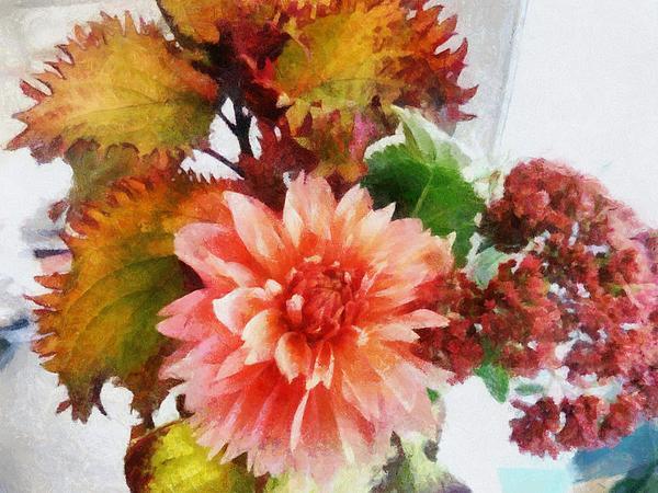 Autumn Joy Print by Michelle Calkins