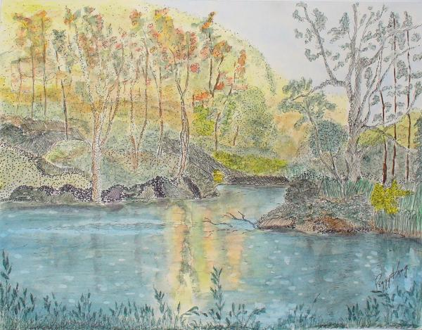 Peggy King - Autumn on the Ausable River