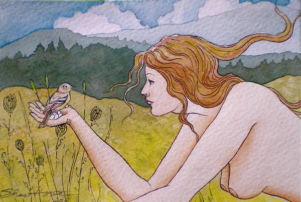 Autumn Print by Sheri Howe