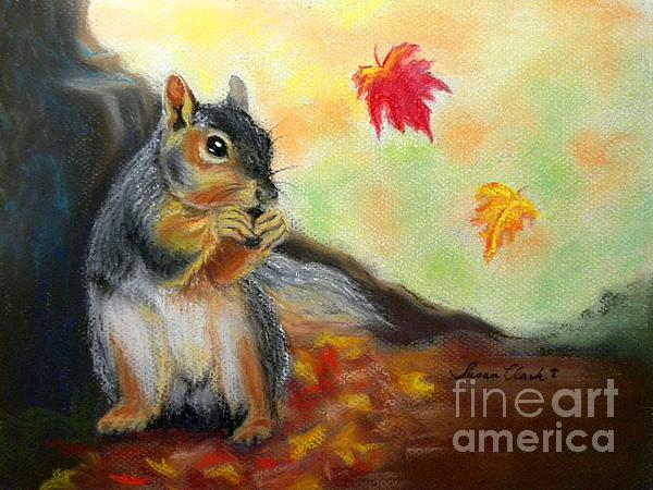 Susan  Clark - Autumn Squirrel