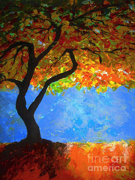 Kimi Arts - Autumn Tree