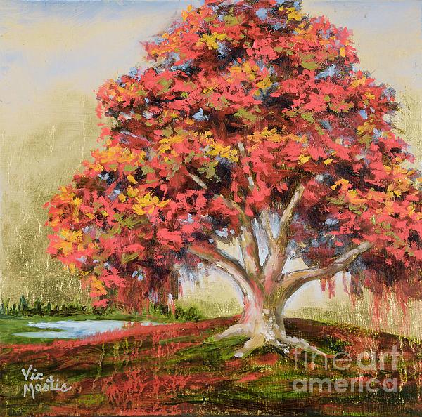 Autumn's Delight Print by Vic  Mastis