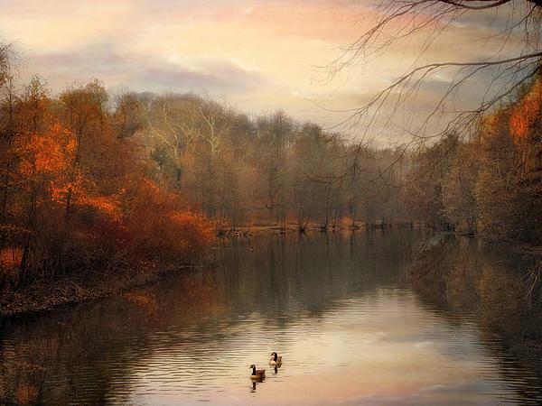 Autumn's Ebb Print by Jessica Jenney