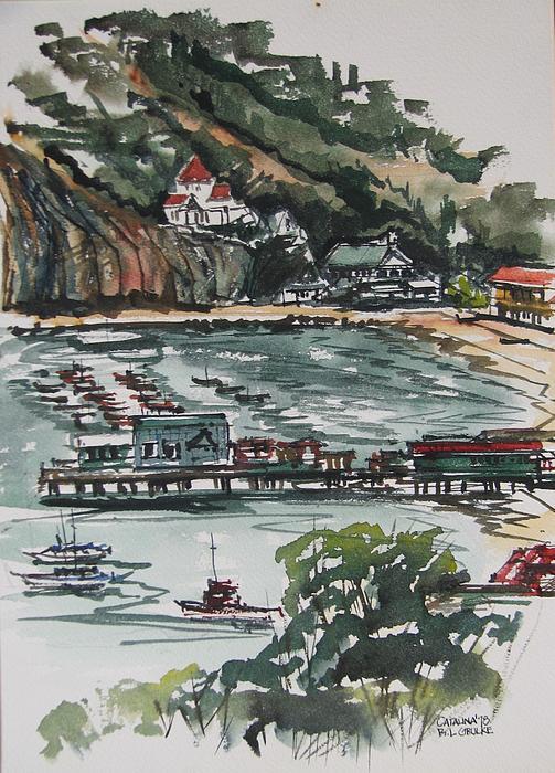 Roger Grulke - Avalon Harbor Catalina Island