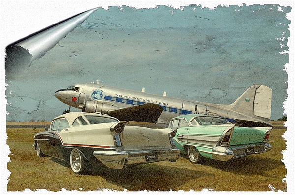 Aviation Of The Past Print by Steven Agius
