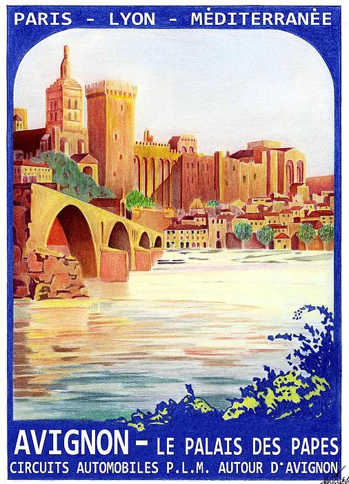 Avignon Deco Print by Lyle Brown