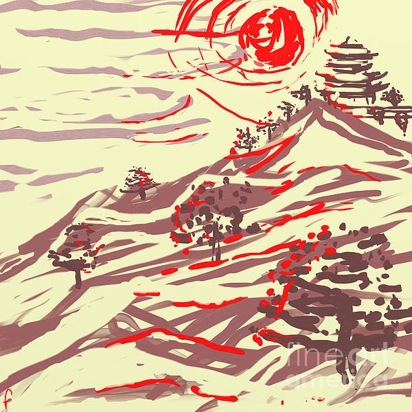 Awakening Hill Print by MURUMURU By FP