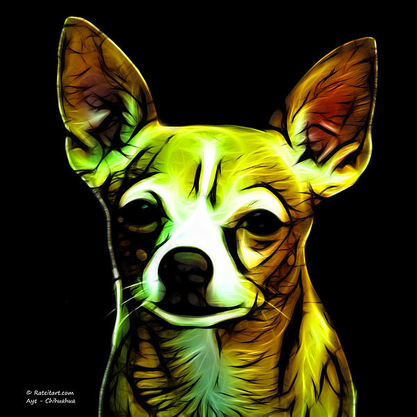 Aye Chihuahua  Print by James Ahn