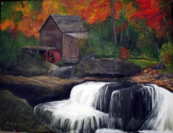 Babcock Mill Print by Timothy Smith