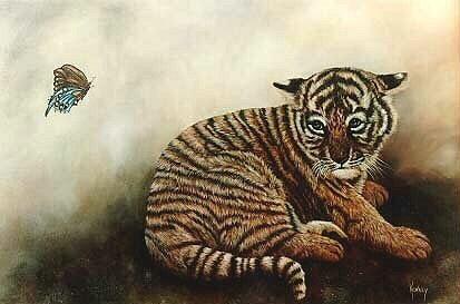 Pamela  Squires - Baby Tiger