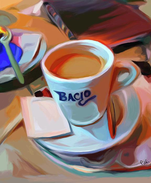 Bacio Print by Patti Siehien