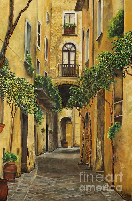 Charlotte Blanchard - Back Street in Italy