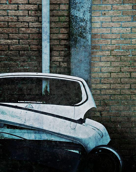 Back To The Wall Print by Odd Jeppesen