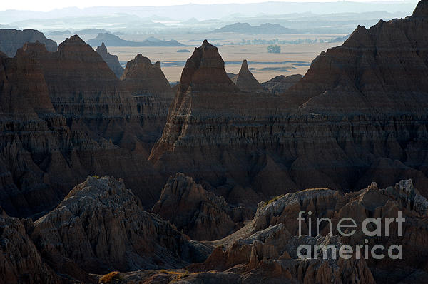 Badland Horizons Print by Chris  Brewington Photography LLC