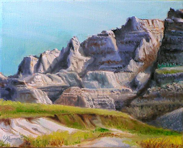 Badlands Loop -  Kadoka Painting  - Badlands Loop -  Kadoka Fine Art Print