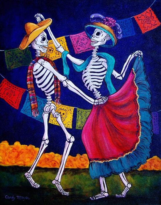 Bailando Print by Candy Mayer
