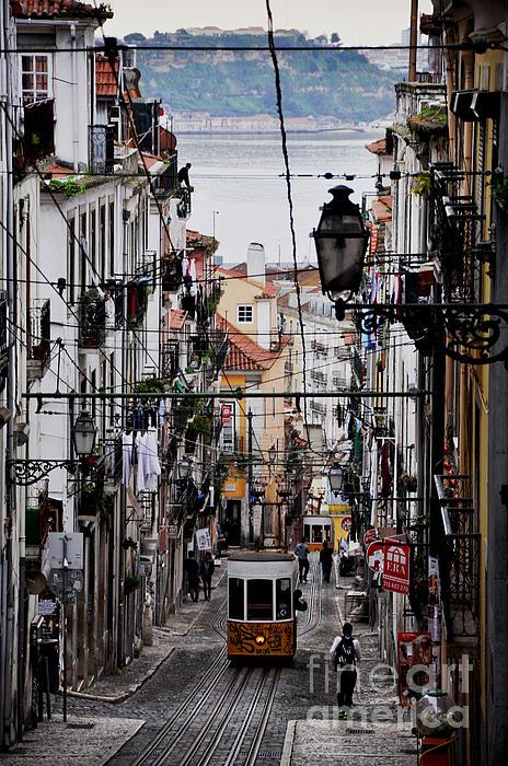 Bairro Alto - Lisbon Print by Armando Carlos Ferreira Palhau