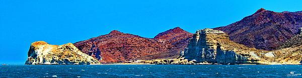 Baja Coastline Print by Russ Harris