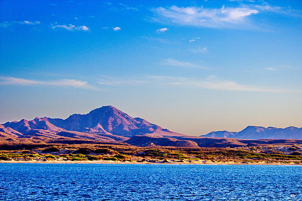 Baja Mountains Print by Russ Harris
