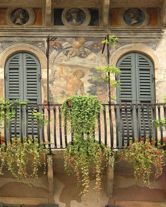 Balcony in verona italy by greg matchick for Balcony in italian