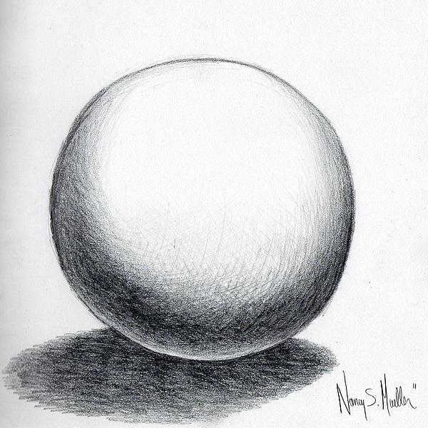 ball and shadow