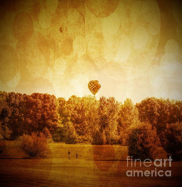 Balloon Nostalgia Print by Michael Garyet
