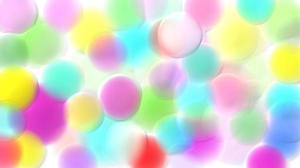 Balloons In The Sky Print by Rosana Ortiz