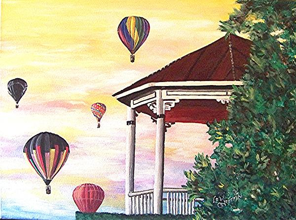 Loraine Griffin - Balloons over the Gazbo