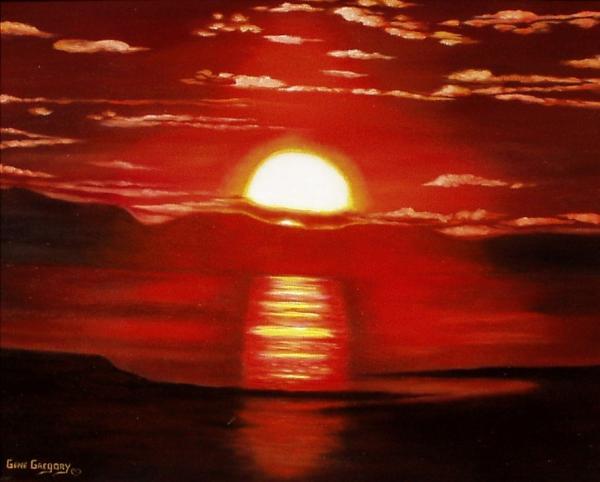 Gene Gregory - Ballycastle sunset