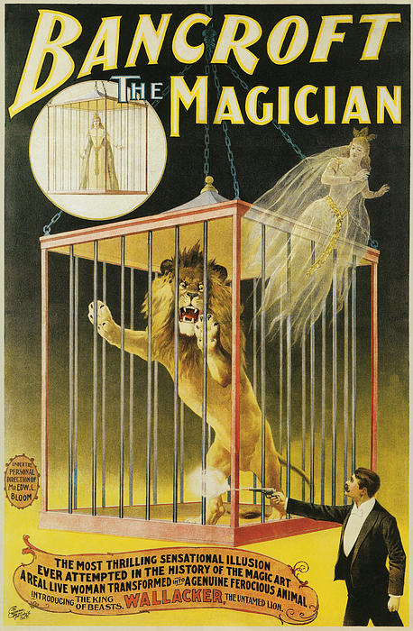 Bancroft The Magician Print by Unknown