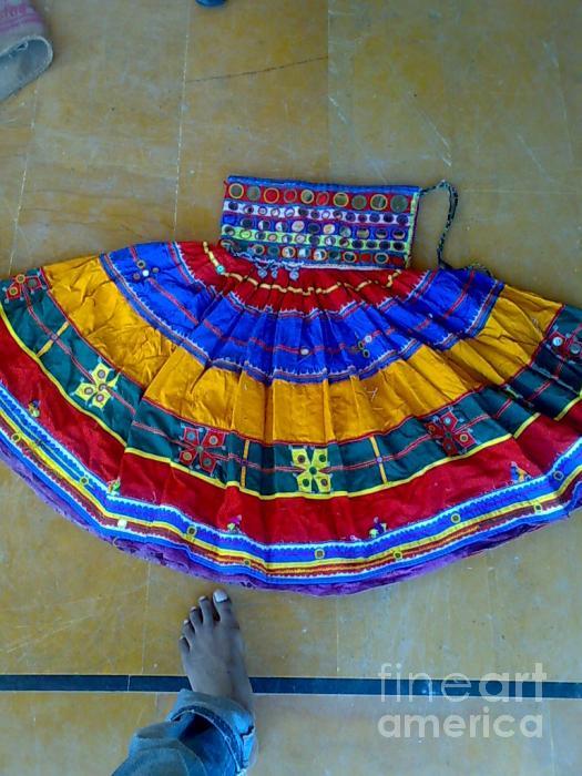 Banjara Skirt Tapestry - Textile