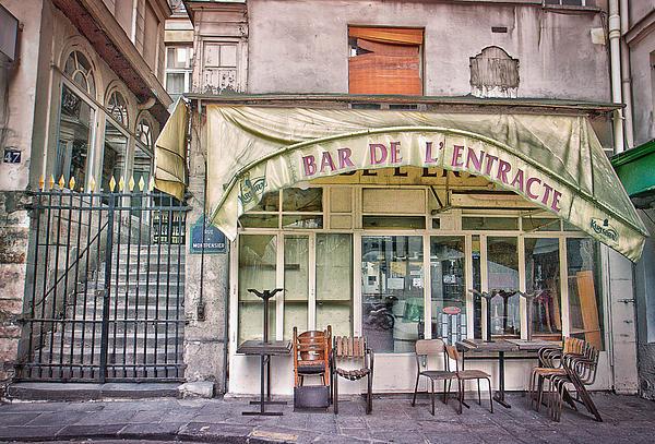Bar De L'entracte Print by Stephanie Benjamin