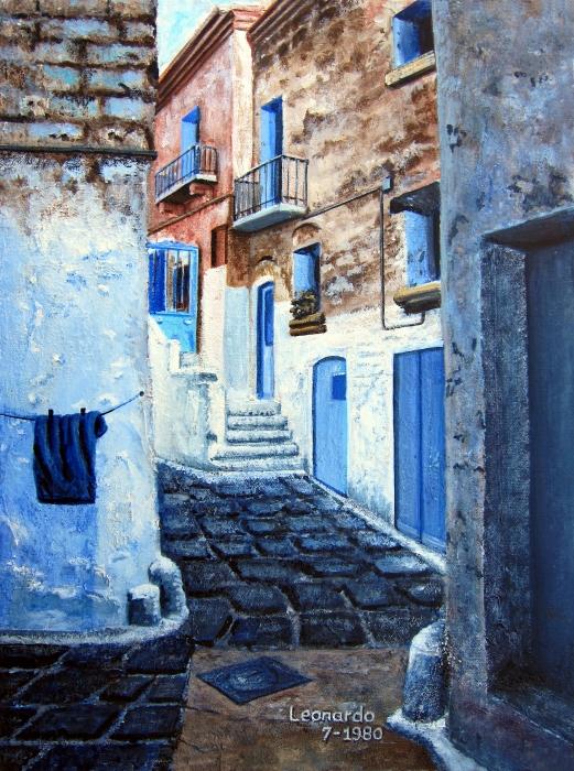 Bari italy print by leonardo ruggieri