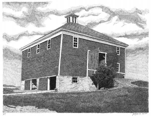 Barn 7 Print by Joel Lueck