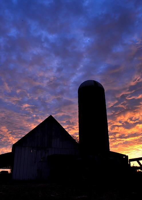 JD Grimes - Barnyard Sunrise I