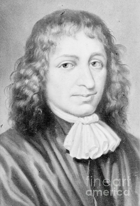 Baruch Spinoza, Jewish-dutch Philosopher Print by Photo Researchers