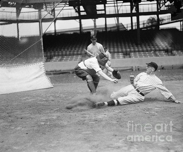 Baseball Game, C1915 Print by Granger