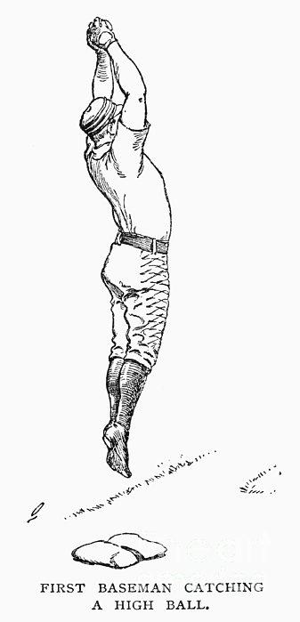 Baseball Player, 1889 Print by Granger