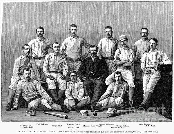 Baseball: Providence, 1882 Print by Granger