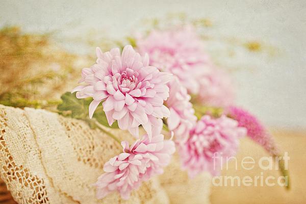 Susan Gary - Basket of Vintage Floral Goodness