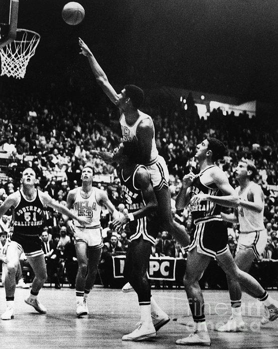 Basketball Game, 1966 Print by Granger