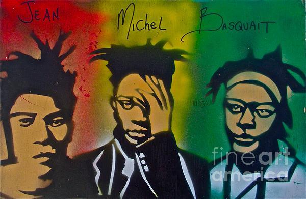 Basquait Me Myself And I Print by Tony B Conscious